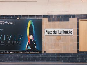 U Platz der Luftbrücke Dudenstrasse 10 Berlin Kreuzberg