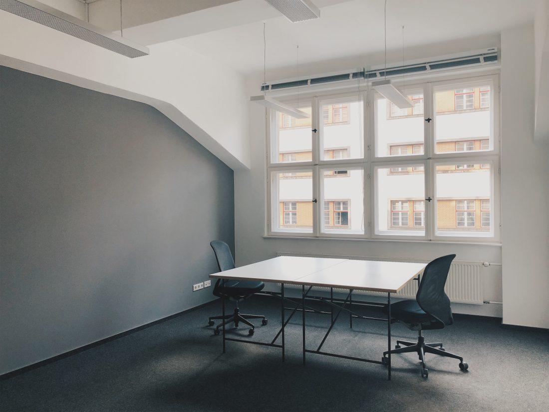 24qm Buero b+office Coworking Space Berlin Kreuzberg für Teamplayer