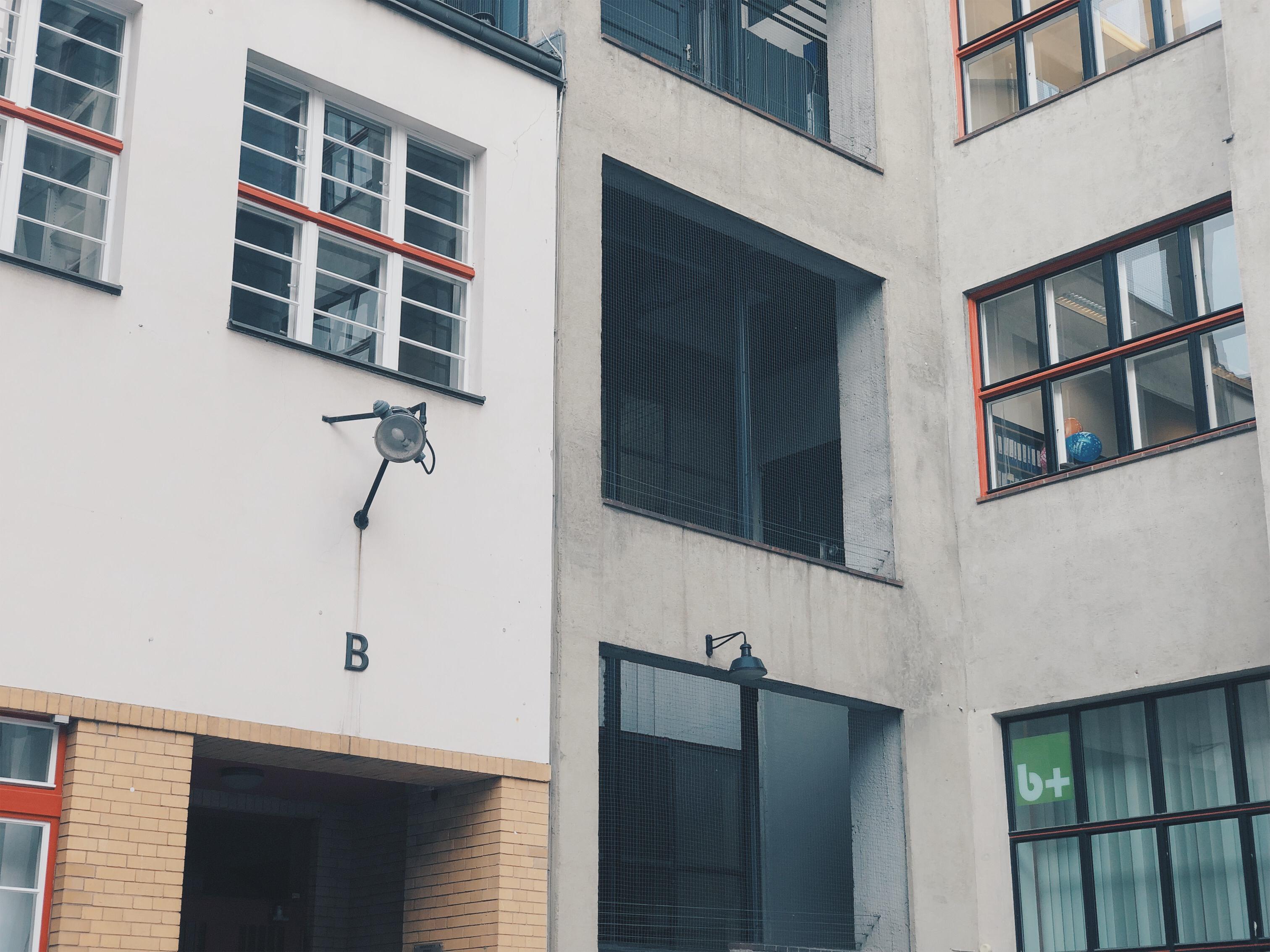 Hauptgang B im Hof Dudenstrasse 10