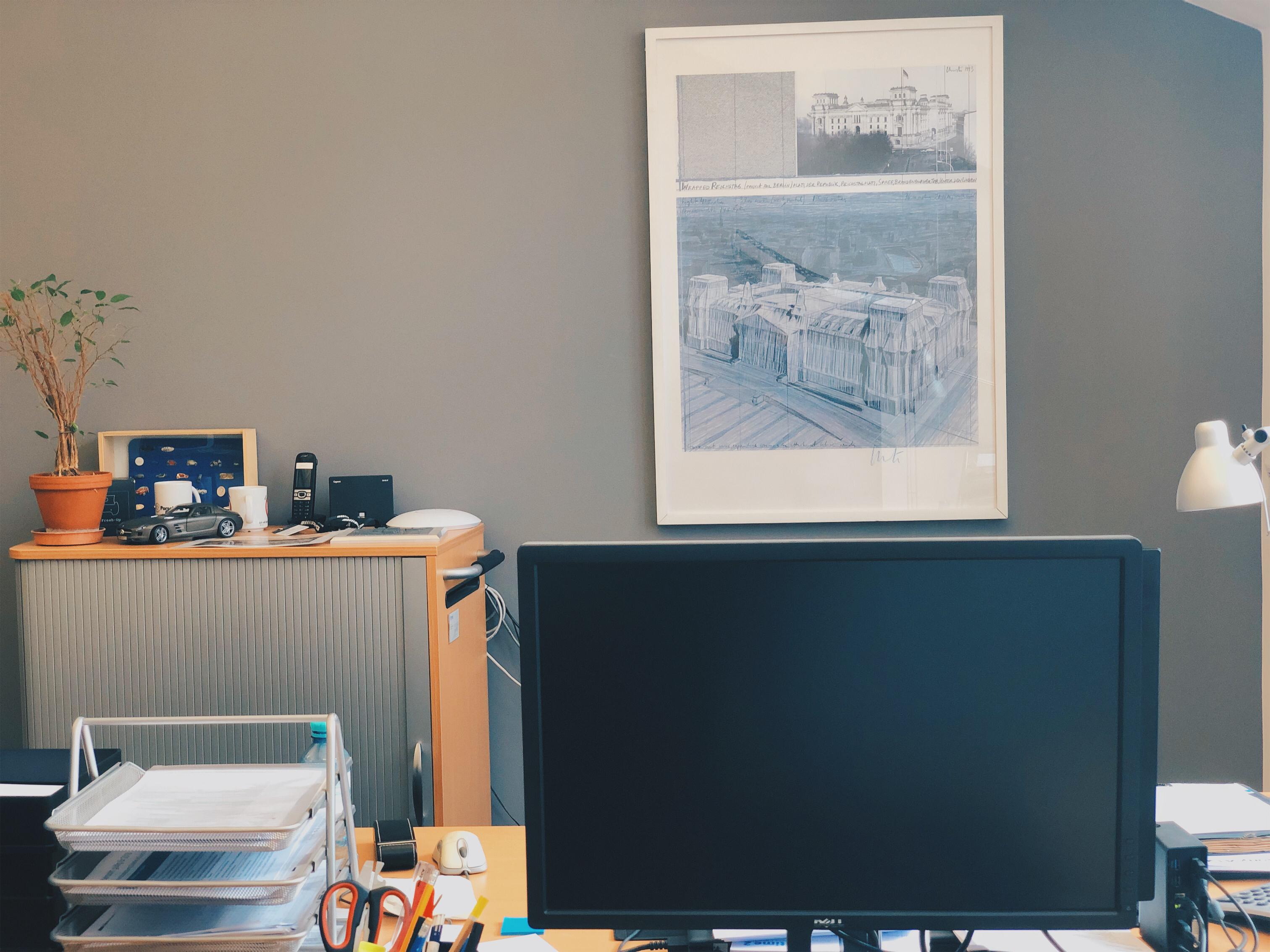 24qm Buero bei b+office Coworking Space Berlin-Kreuzberg