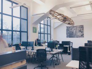 Coworking Space b+office Berlin Kreuzberg Tageslichtfans